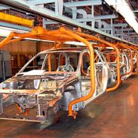 Роботы в производстве автомобилей