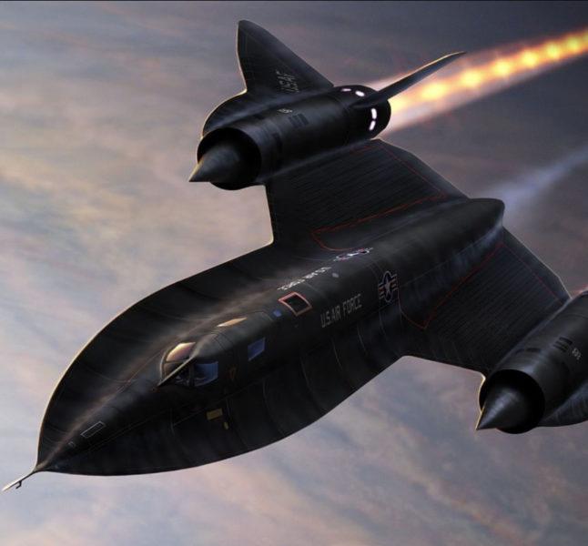 Самолёт США Черный дрозд