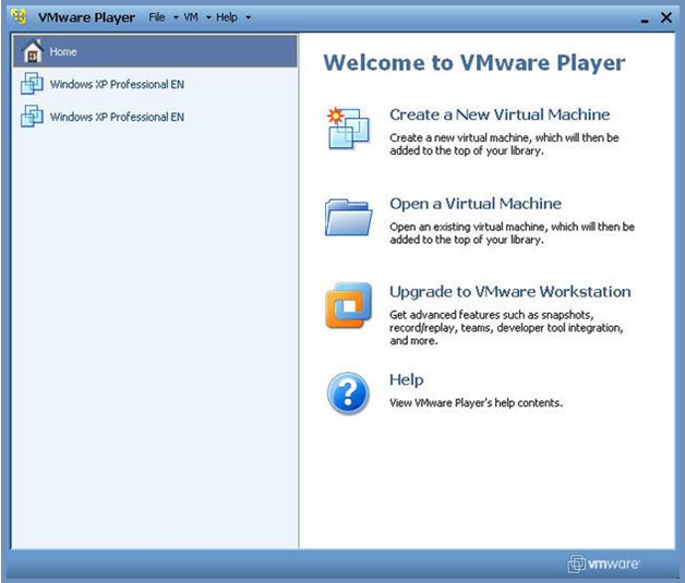 программа VMware Workstation