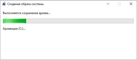 создание резервной копии windows 10