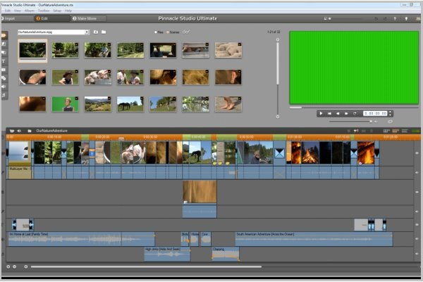 Программа для видеомонтажа Pinnacle Studio