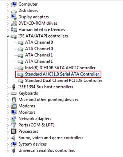 Контроллер SATA