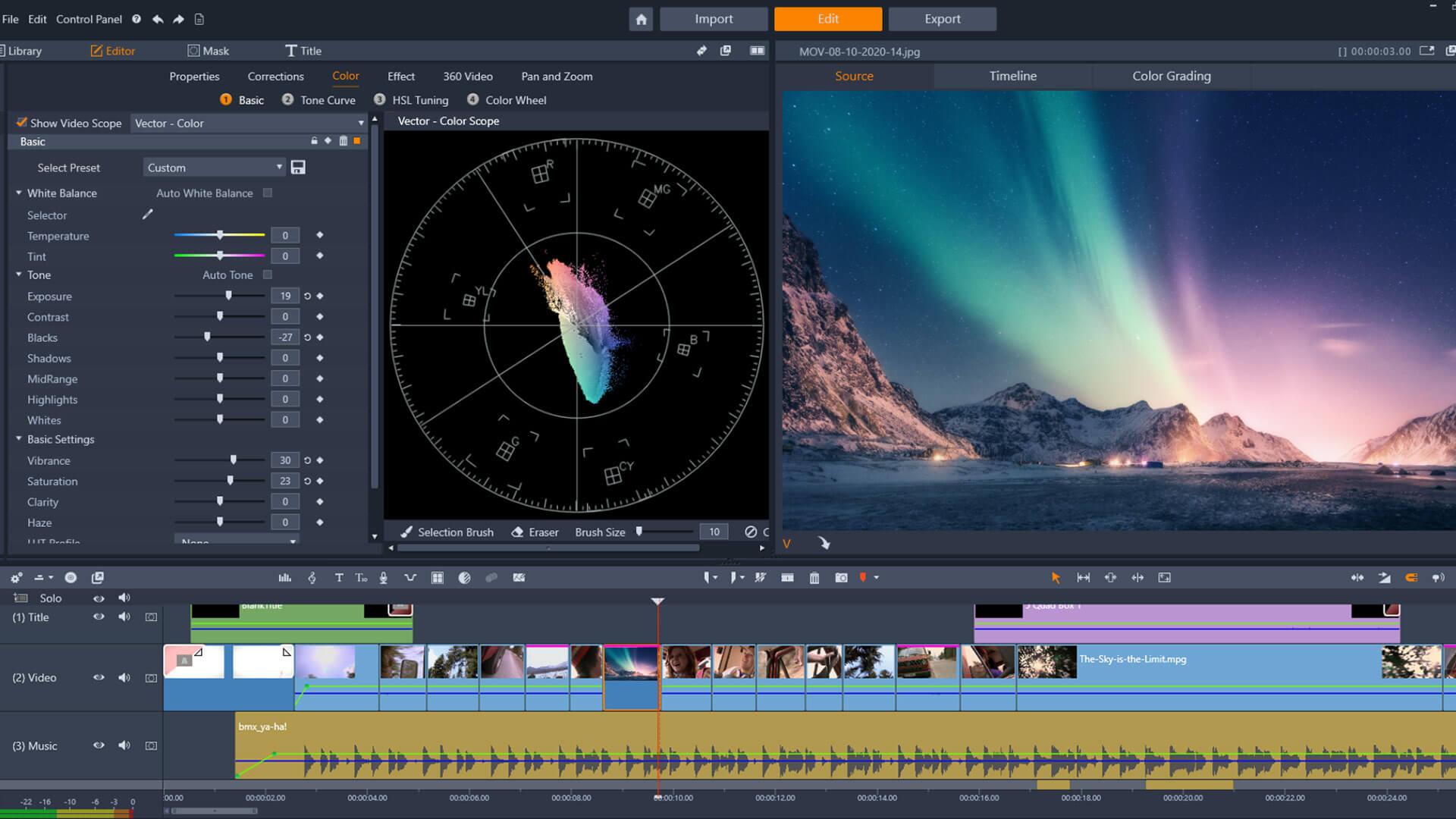 Pinnacle Studio 24 монтаж видео