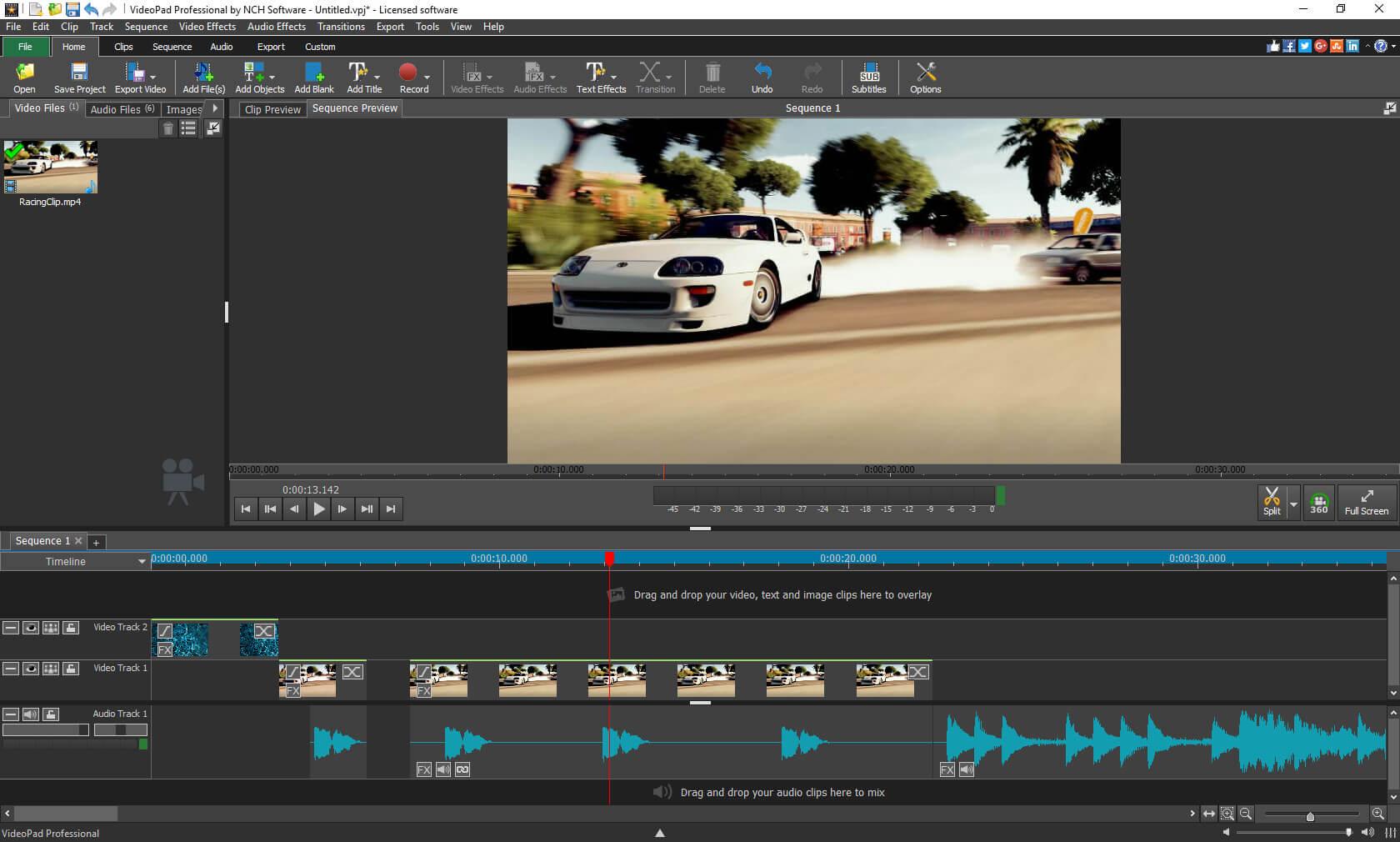 Video Pad editor